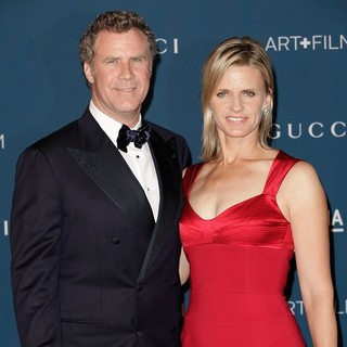 Will Ferrell, Viveca Paulin in LACMA 2013 Art and Film Gala Honoring Martin Scorsese and David Hockney Presented by Gucci