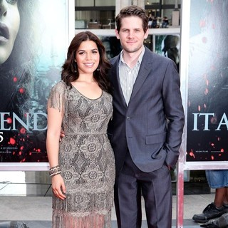 America Ferrera, Ryan Piers Williams in New York Premiere of Harry Potter and the Deathly Hallows Part II - Arrivals
