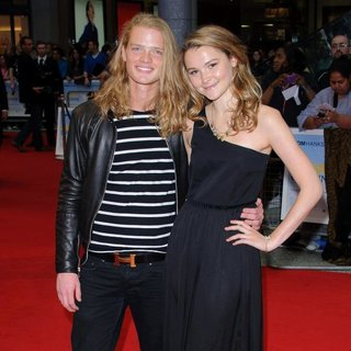 Fredrik Ferrier, Amber Atherton in Larry Crowne UK Premiere - Arrivals