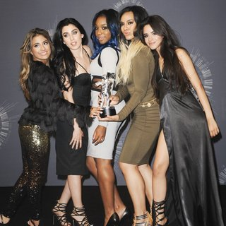 Fifth Harmony in 2014 MTV Video Music Awards - Press Room