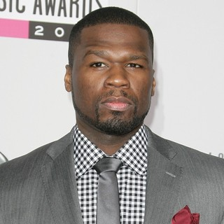 50 Cent in The 40th Anniversary American Music Awards - Arrivals