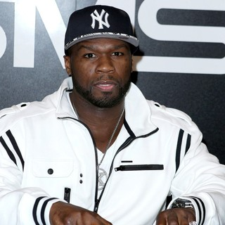 50 Cent in 50 Cent Appears at The SMS Audio Booth at The 2012 International CES