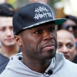 50 Cent Promotes His Album Animal Ambition During An Interview on Extra