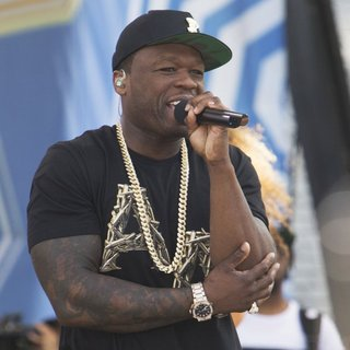50 Cent in 50 Cent Performs on Good Morning America