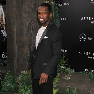 50 Cent - New York Premiere of After Earth