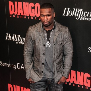 50 Cent - The Premiere of Django Unchained