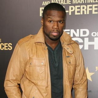 50 Cent in Los Angeles Premiere of End of Watch