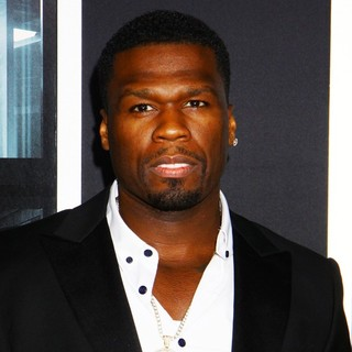 50 Cent in New York Movie Premiere for Escape Plan