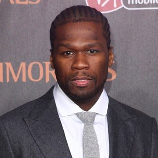 50 Cent in Immortals 3D Los Angeles Premiere