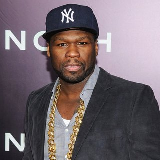 50 Cent in Noah New York Premiere