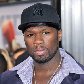 50 Cent in Los Angeles Premiere of Real Steel