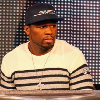 50 Cent in 50 Cent Is Presenting His Head Phones for SMS Audio