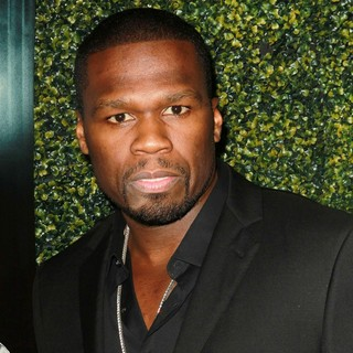 50 Cent in The Lionsgate Home Entertainment and Grindstone VIP Screening of Freelancers