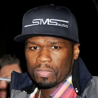 50 Cent in The Cinema Society and Men's Fitness Screening of Pain and Gain