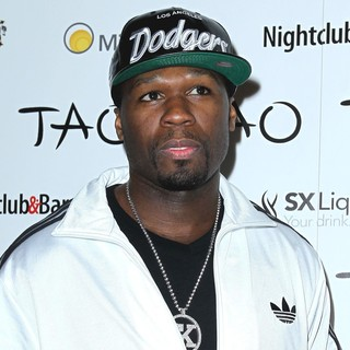 50 Cent in Nightclub and Bar Convention and Trade Show Presents The Platinum Party