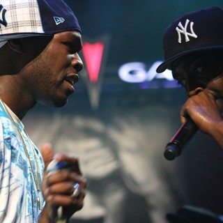50 Cent, Tony Yayo in Hot97 - Where Hip Hop Lives Presents 50 Cent's 5 Borough Tour
