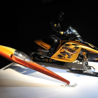 Snow Mobiles from Die Another Day - 2002 Designing 007 - Fifty Years of Bond Style