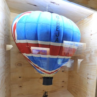 Q's Hot Air Balloon from Octopussy - 1983 Designing 007 - Fifty Years of Bond Style
