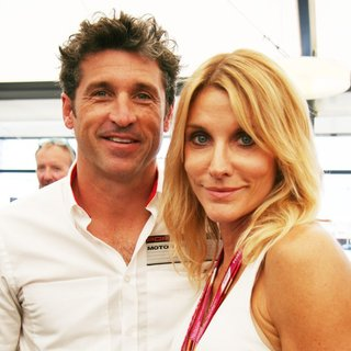 Patrick Dempsey, Jillian Fin in Formula 1 - 2014 German Grand Prix