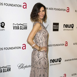 Finola Hughes in 21st Annual Elton John AIDS Foundation's Oscar Viewing Party