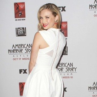Fiona Gubelmann in Premiere Screening of FX's American Horror Story: Asylum