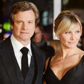 Colin Firth, Cameron Diaz in The World Premiere of Gambit