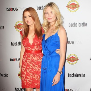 Isla Fisher, Kirsten Dunst in The Premiere of RADiUS-TWC's Bachelorette