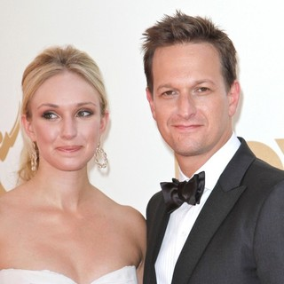 Sophie Flack, Josh Charles in The 63rd Primetime Emmy Awards - Arrivals