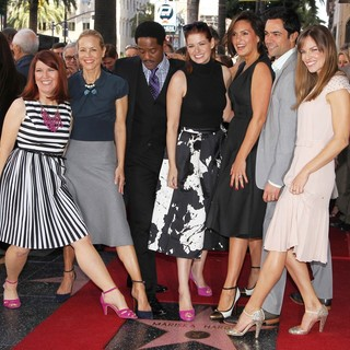 Danny Pino in Mariska Hargitay Honored on The Hollywood Walk of Fame - flannery-bello-underwood-messing-hargitay-pino-swank-mariska-hargitay-walk-of-fame-01