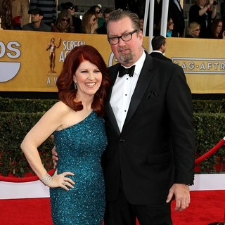 Kate Flannery, Chris Haston in 19th Annual Screen Actors Guild Awards - Arrivals