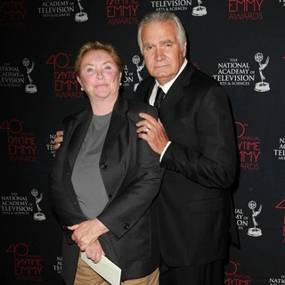 Susan Flannery, John McCook in 40th Annual Daytime Entertainment Creative Arts Emmy Awards