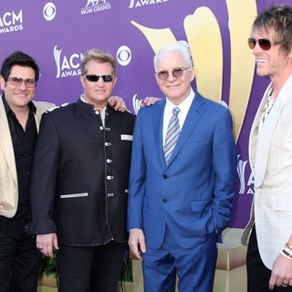 Rascal Flatts, Steve Martin in 2012 ACM Awards - Arrivals