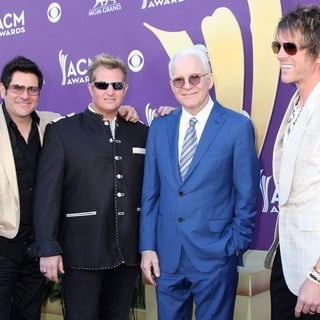 Rascal Flatts in 2012 ACM Awards - Arrivals - flatts-martin-2012-acm-awards-01