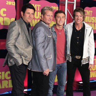 Rascal Flatts, Scotty McCreery in 2012 CMT Music Awards