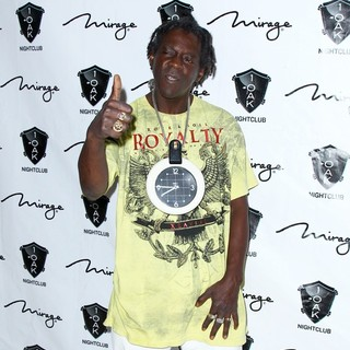 Flavor Flav, Public Enemy in Cee-Lo Green Live - Arrivals