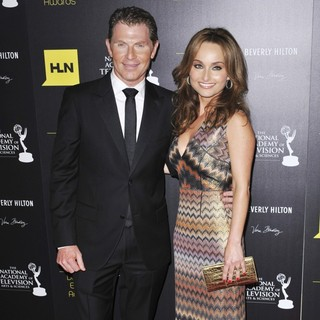 Bobby Flay, Giada De Laurentiis in 39th Daytime Emmy Awards - Arrivals