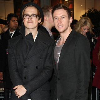 McFly in The Twilight Saga's Breaking Dawn Part I UK Film Premiere - Arrivals - fletcher-jones-uk-premiere-breaking-dawn-1-01