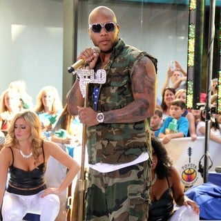 Flo Rida in Flo Rida Performs at The Toyota Concert Series on The Today Show