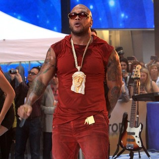 Flo Rida - Flo Rida Performs on The Today Show as Part of NBC's Toyota Concert Series