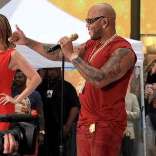 Flo Rida in Flo Rida Performs on The Today Show as Part of NBC's Toyota Concert Series