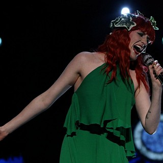 Florence Welch, Florence and the Machine in Bestival Music Festival 2012 - Performances - Day Two