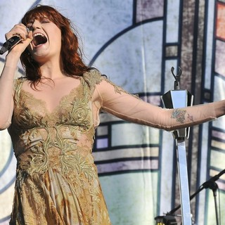 Florence Welch, Florence and the Machine in BBC Radio 1's Hackney Weekend - Day 2
