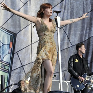 Florence Welch, Robert Ackroyd, Florence and the Machine in BBC Radio 1's Hackney Weekend - Day 2