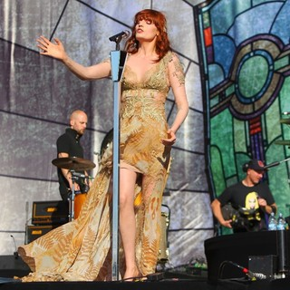 Mark Saunders, Florence Welch, Florence and the Machine in BBC Radio 1's Hackney Weekend - Day 2