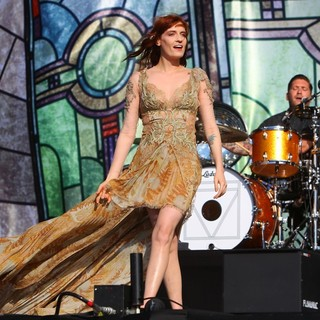 Florence Welch, Christopher Lloyd Hayden, Florence and the Machine in BBC Radio 1's Hackney Weekend - Day 2