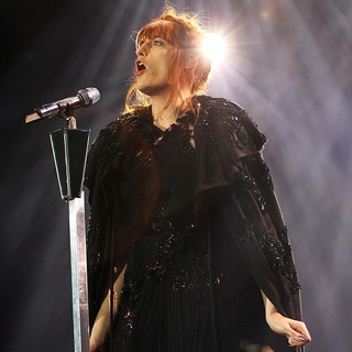 Florence Welch, Florence and the Machine in Florence and the Machine Performing Live During Their Second Night at The O2 Arena