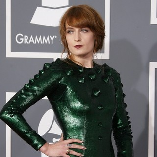Florence Welch, Florence and the Machine in 55th Annual GRAMMY Awards - Arrivals