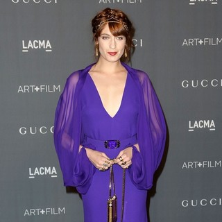 Florence Welch, Florence and the Machine in LACMA 2012 Art + Film Gala - Arrivals