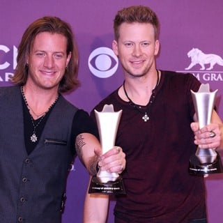 Florida Georgia Line in 48th Annual ACM Awards - Press Room