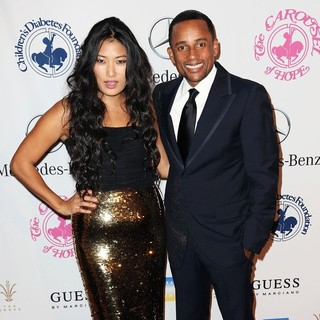 Chloe Flower, Hill Harper in 26th Anniversary Carousel of Hope Ball - Presented by Mercedes-Benz - Arrivals
